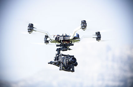 Drone red epic dragon sony F55 arri alexa mini